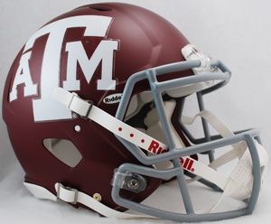 Texas A&M Aggies Riddell Speed Authentic Helmet