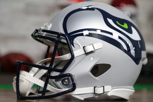 Seattle Seahawks Special Edition AMP Authentic Helmet