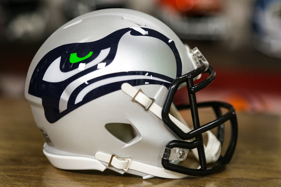Seattle Seahawks Special Edition AMP Mini Helmet