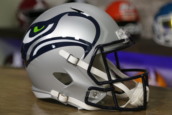 Seattle Seahawks Special Edition AMP Replica Helmet