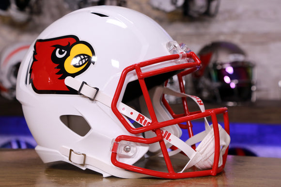 Louisville Cardinals Riddell Speed Replica Helmet