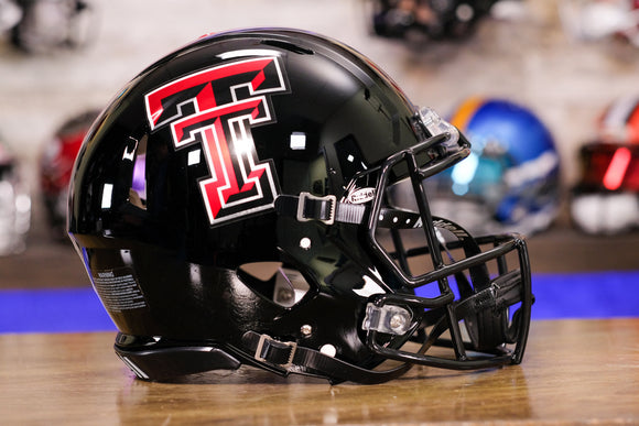 Texas Tech Red Raiders RIddell Speed Authentic Helmet