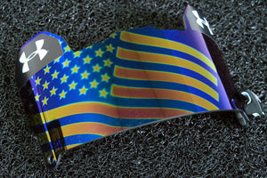Under Armour Visor - USA Flag Mirror