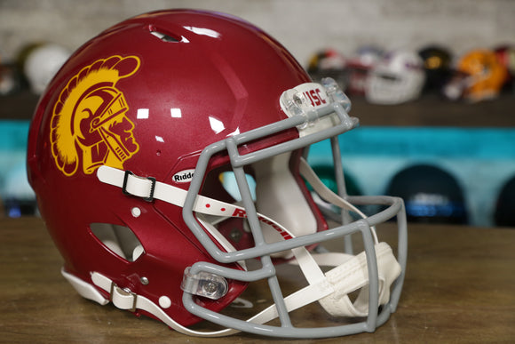 USC Trojans Riddell Speed Authentic Helmet