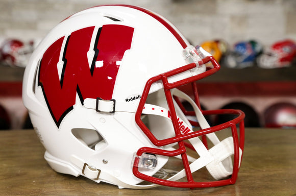 Wisconsin Badgers Riddell Speed Authentic Helmet