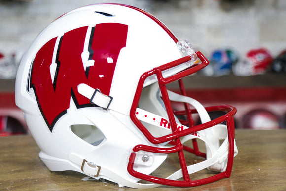 Wisconsin Badgers Riddell Speed Replica Helmet