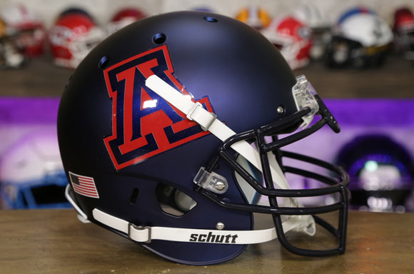 Arizona Wildcats Schutt XP Authentic Helmet - Satin Navy