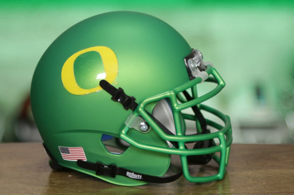 Oregon Ducks Schutt XP Mini Helmet - Apple Green
