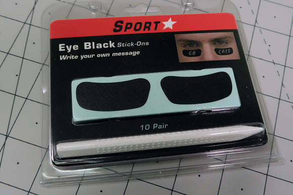 SportStar Eye Black Stickers With Marker