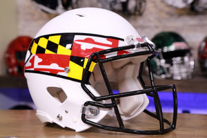 Maryland Terrapins Riddell Speed Authentic Helmet
