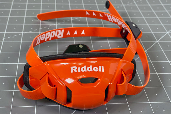 Riddell Speedflex Hard Cup Cam Loc Chinstrap - Orange