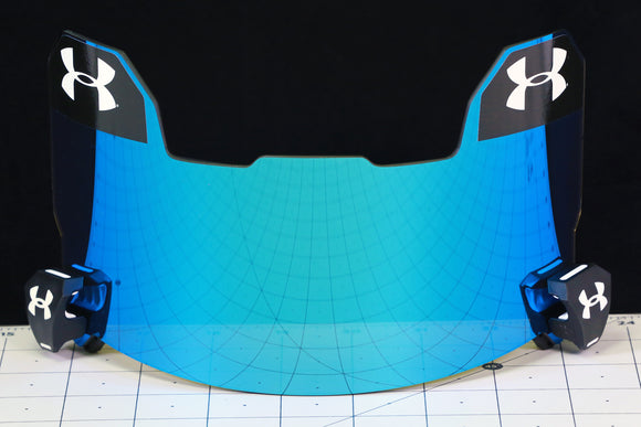 Under Armour Visor - Blue Mirror