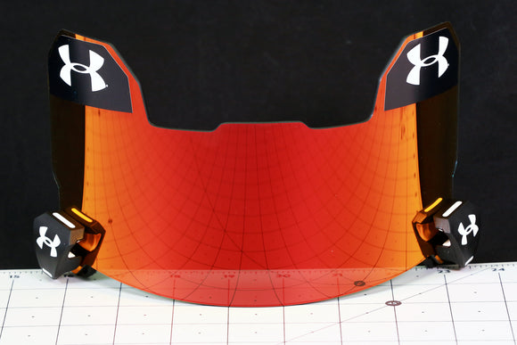 Under Armour Visor - Red Mirror