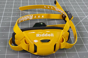 Riddell Speedflex Hard Cup Cam Loc Chinstrap - Green Bay Gold