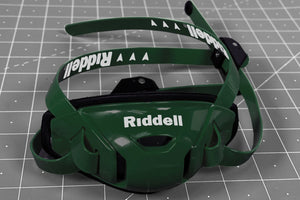Riddell Speedflex Hard Cup Cam Loc Chinstrap - Forest Green
