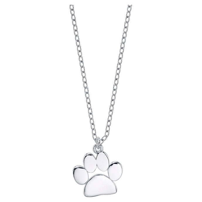Elegant Paw Print Necklace