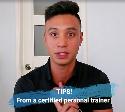 Tips from a Certified Personal Trainer