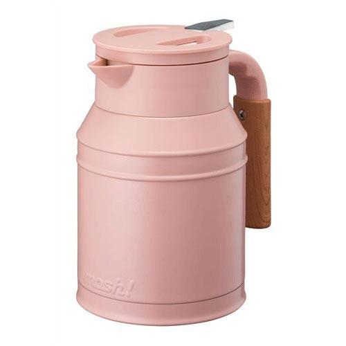 mosh! Japan Stainless Steel Pot 1L - Pink