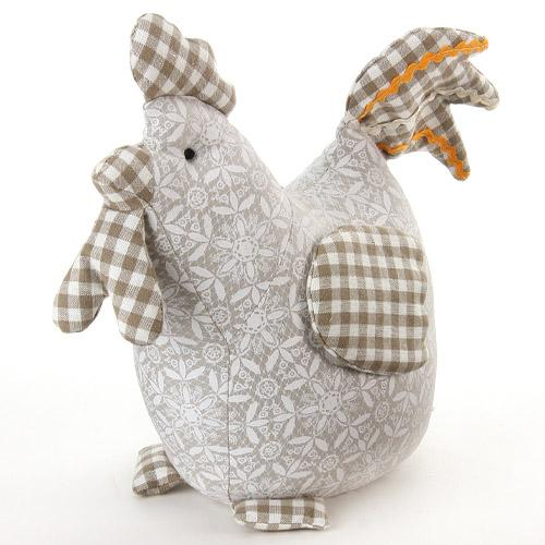 Door stopper chicken geometric pattern