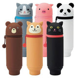 "Animal ""Standing"" Pencil Case - 03 Black cat"