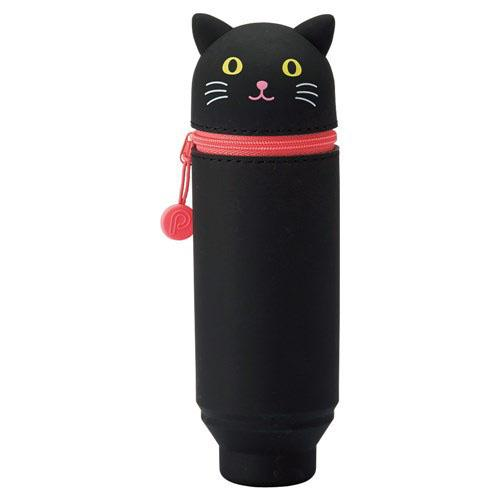 Animal Stand Pen Case - Kuroneko