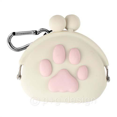 Cute paw pouch - White