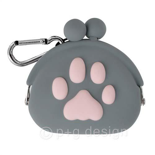 Cute Paw Pouch - Grey