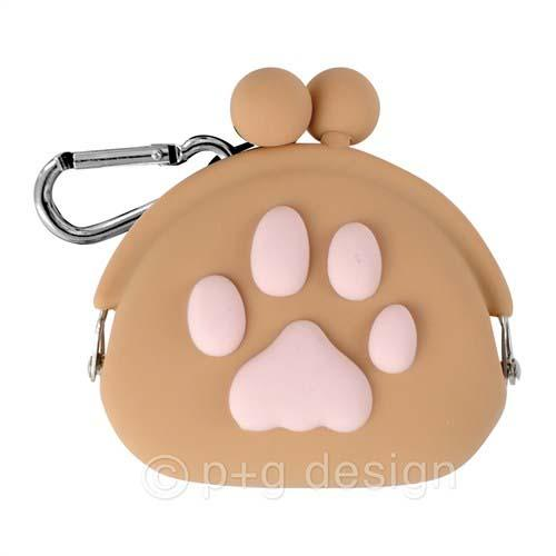 Cute Paw Pouch - Brown