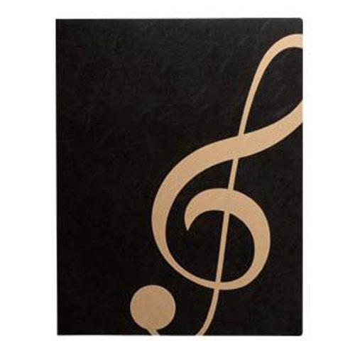 Score file / Kenban MUSIC LESSON FILE - Black Treble clef