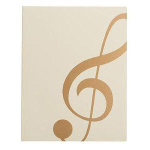 Score file / Kenban MUSIC LESSON FILE - White Treble clef