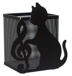 Pencil holder - Cat x Treble clef