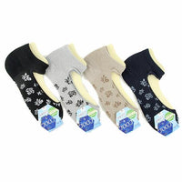 Floral pattern cover socks