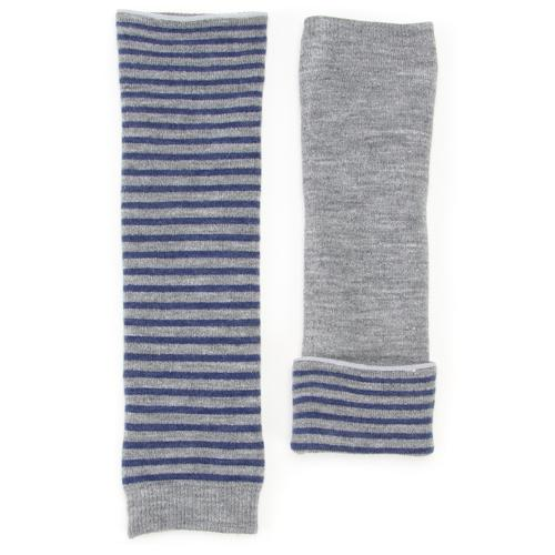 Reversible Arm & leg warmer - Grey
