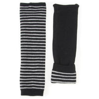 Reversible Arm & leg warmer - Black