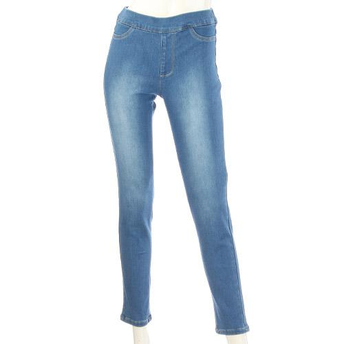 GUNZE LL Brushed Vintage Denim Legging