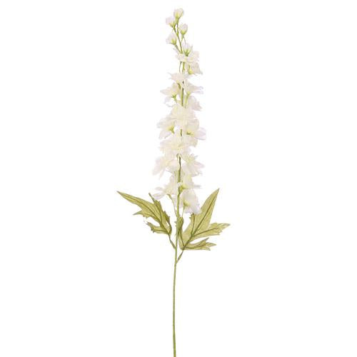 Artificial Flowers - Delphinium white