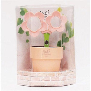 COCONE Japan Flower Scissors with Stationery Stand and Tray - Pink