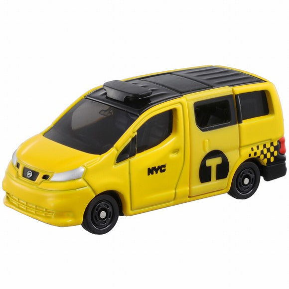 Tomica No. 27 Nissan NV200 New York City Taxi