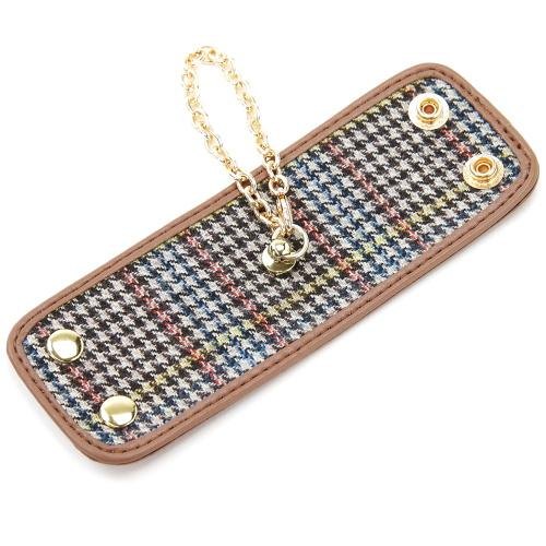 Glove Holder Brown Checker