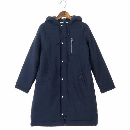 NORTHERN TRUCK coat with hood - L Navy