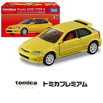 Preorder Tomica Premium 37 Honda Civic Type R YELLOW (Tomica Premium Anniversary Version) (Approx. Release Date : August 2020 subject to manufacturer's final decision)