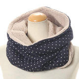 Bore neck warmer - Navy blue