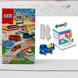 F-Toys Confect. Tomica Assembly Town 4 - #3 Isuzu ELF Vehicle Transporter + Workshop