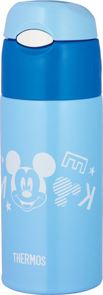 Thermos Vacuum Insulated Straw Bottle 0.4 L Blue Sky FHL-401FDS