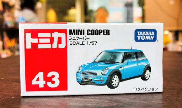Tomica No.43 Mini Cooper
