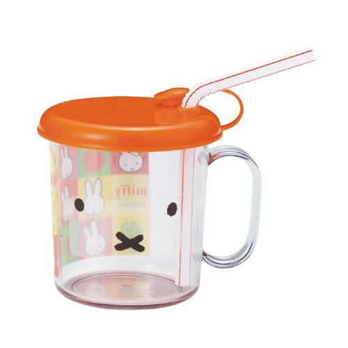 Miffy Cup with Straw 210ml