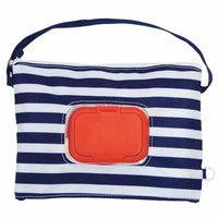 Wet tissue pouch - Blue stripe