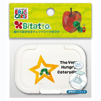 Bitatto ~ The Very Hungry Caterpillar Reusable Baby Wipes Lid - Cumbria & Star (Mini Size)