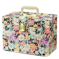 Flower Print Makeup Cosmetic Case