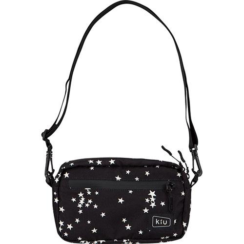 KiU Waterproof Mini Shoulder Bag - Black Stardust